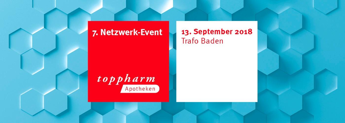 TopPharm Netzwerk-Event - 13.09.2018 im Trafo Baden